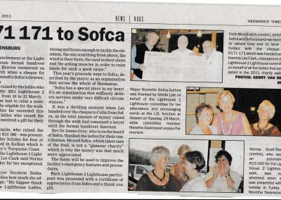SOFCA 2011 Awards article