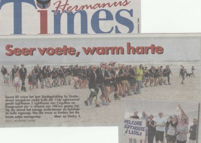 L2L 2016 Walk March 2016 Hermanus Times p1